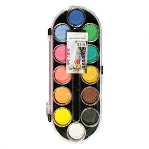 акварелни бои художник 12 цвята