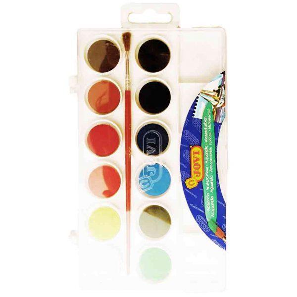 акварелни бои 12 цвята jovi