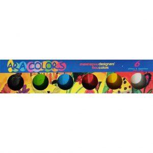 темперни бои араколорс 6 цвята бурканче