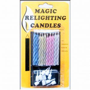 магически свещи за рожден ден