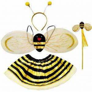 парти костюм пчеличка с крила