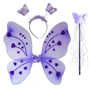 парти крила пеперуда лилави