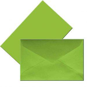 плик малък зелен