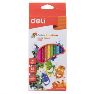 цветни моливи Deli color emotion 12 цвята