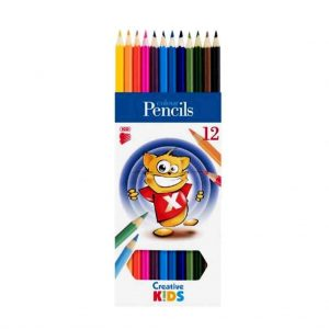 цветни моливи ico 12 цвята