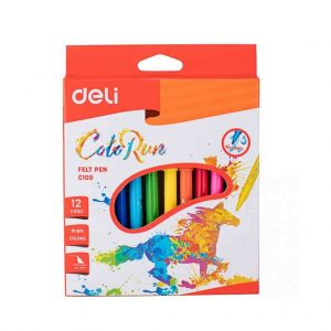 флумастери дели 12 цвята