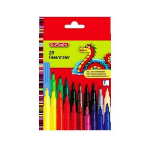 флумастери херлиц 20 цвята
