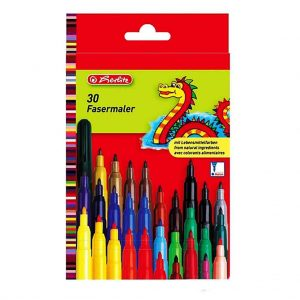 флумастери херлиц 30 цвята