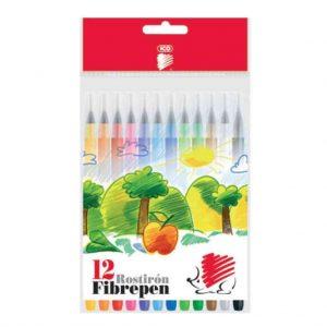 флумастери ico 12 цвята