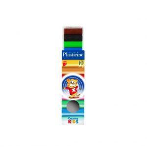 пластилин ико 10 цвята