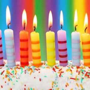 свещички за торта