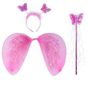 крила ангел розови