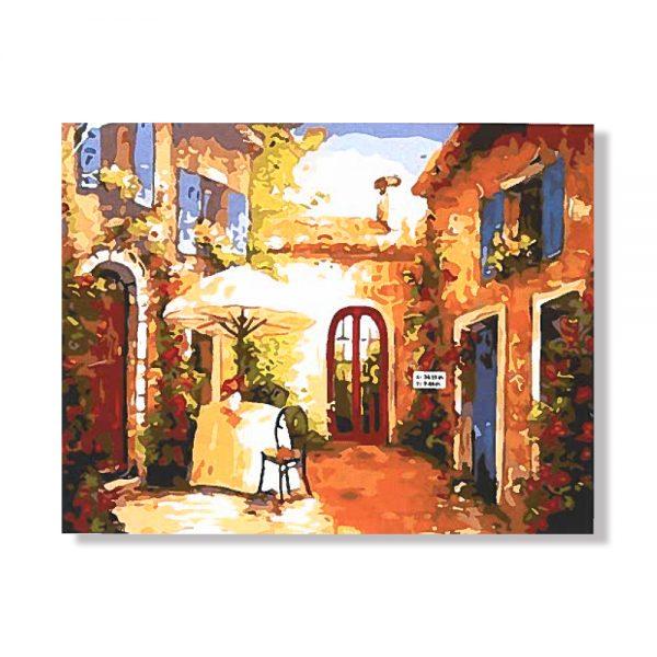 картина за рисуване по номера натюрморт цветя