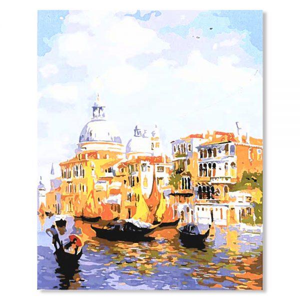 картина за рисуване по номера Венеция
