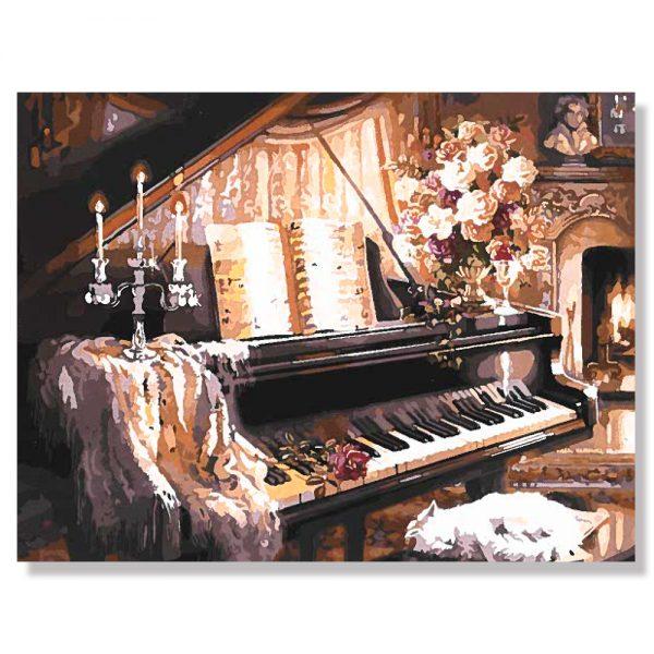 картина за рисуване по номера роял