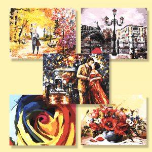 картини за рисуване по номера