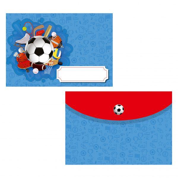 плик за покана за рожден ден спорт